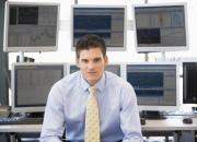 Computer Trading an einem PC